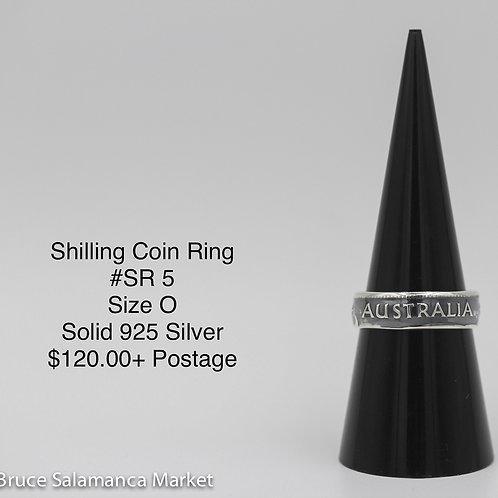 Shilling Coin Ring SR#5