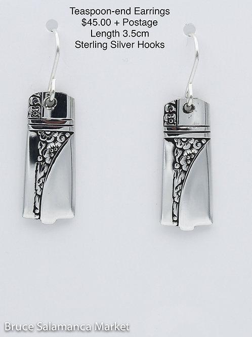Teaspoon-end Earrings #2