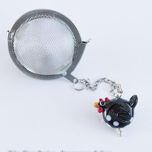 Tea Infuser - Black Chicken