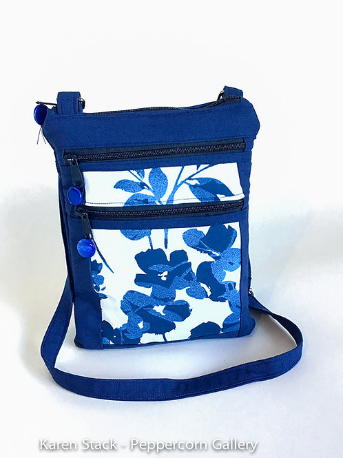 Cross Body Bag - Medium - Dark Blue