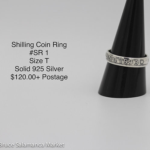Shilling Coin Ring SR#1