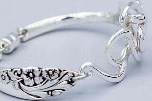 Antique Fork Bracelet Design #10