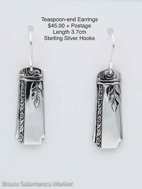 Teaspoon-end Earrings #8