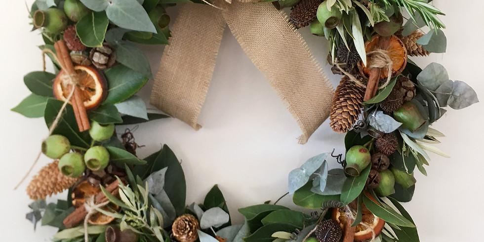 Festive Xmas Wreath