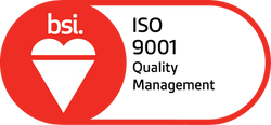 BSI Assurance Mark ISO 9001 Red.png