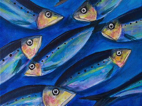 Sardines #2 - Print