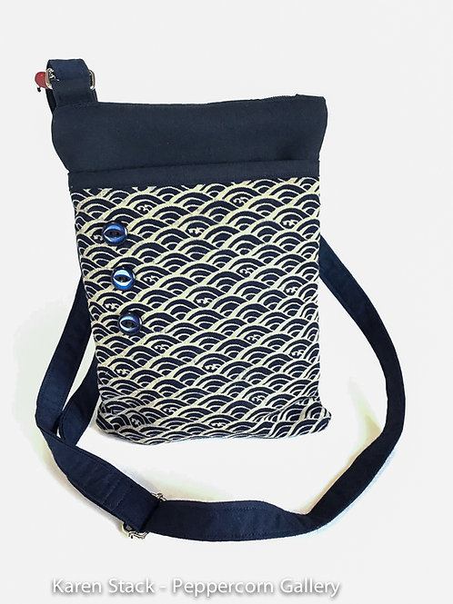 Cross Body Bag - Medium - Dark Navy