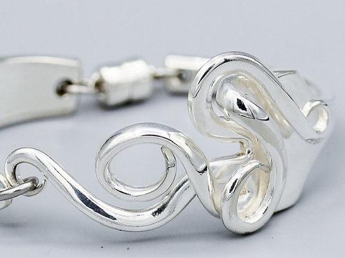 Antique Fork Bracelet Design #12