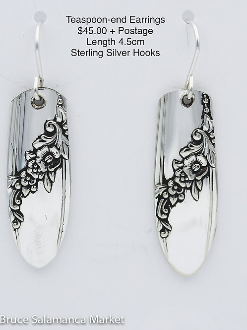 Teaspoon-end Earrings #12
