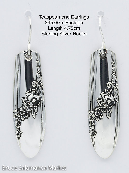 Teaspoon-end Earrings #12