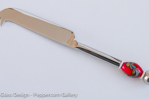 Cheese Knife - Red Topaz