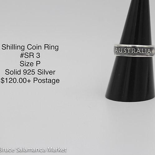 Shilling Coin Ring SR#3