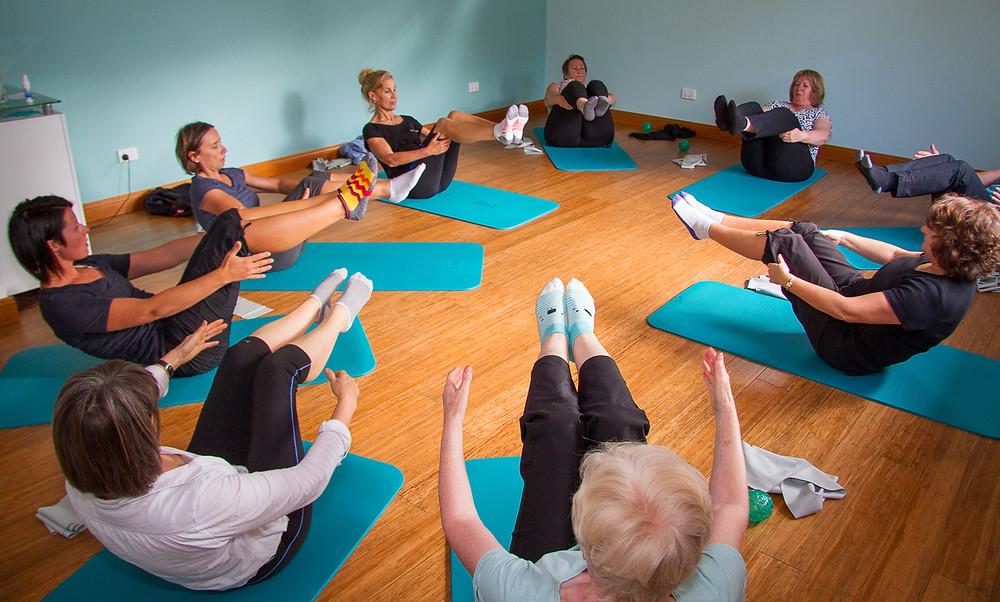 Pilates J NEW Group Floor Class - Monday's 9.30 am