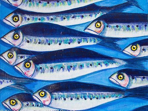 Sardines #5 A4 Print