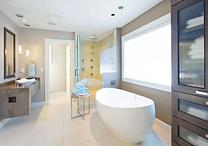Salle de bain rénové, extention, alentour, devis