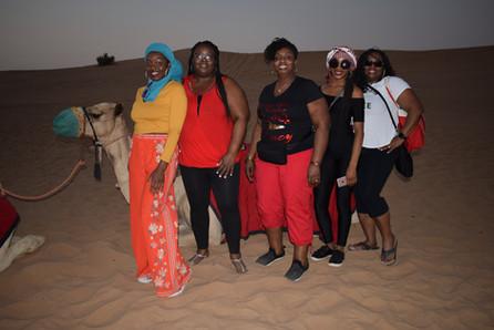 Dubai Camping & BBQ Camel  Rides