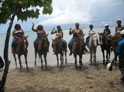 ready to ride horses