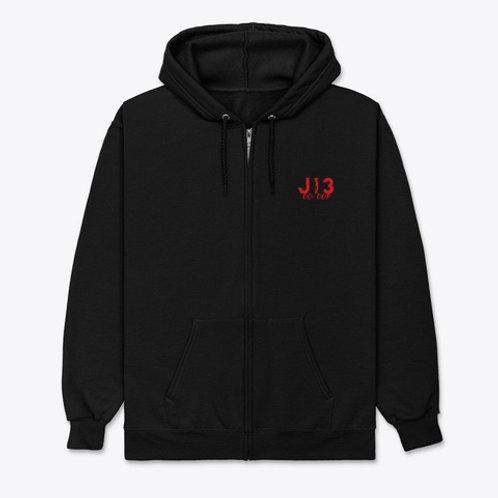 J13 MidsUp Zipper Hoodie