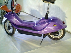 custom painted scooter - 1
