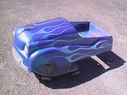 Flames- PEDAL CAR -2