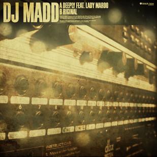 DJ Madd. Sleeve Design.
