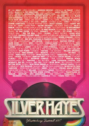 Silver Hayes, Glastonbury Festival 2017.