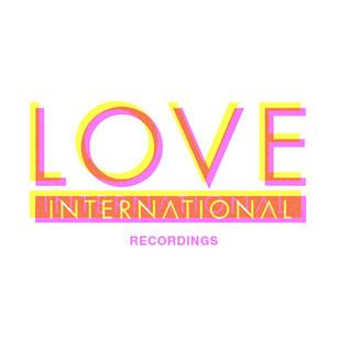 Love International Recordings Logo.