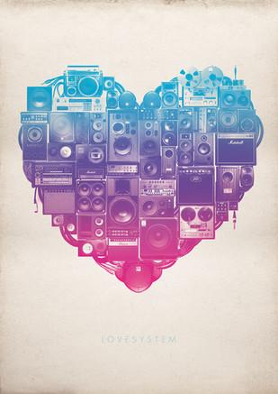 Love System Illustration.
