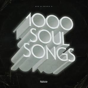 Die & Jenna G - 1000 Soul Songs. Sleeve Design.