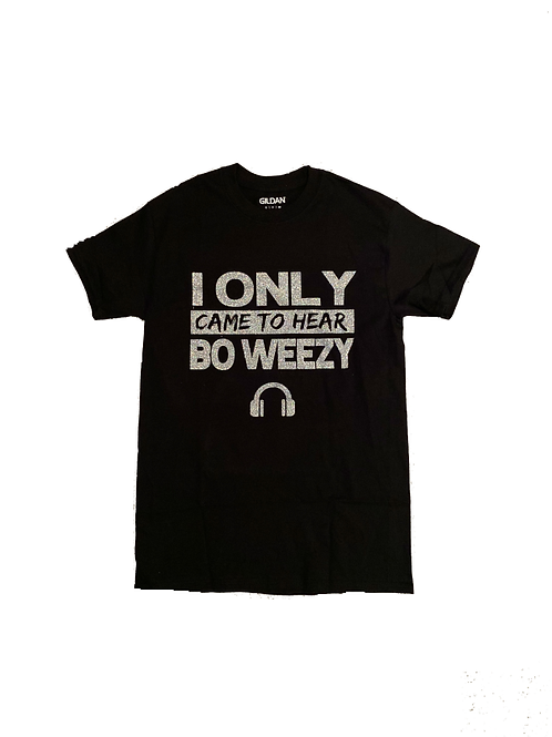 Exclusive Silver Bo Weezy Supporter Tee