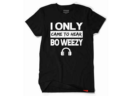 Exclusive Bo Weezy Supporter Tee - B/W Edition