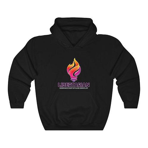 Black Unisex Heavy Blend™ Hooded Sweatshirt