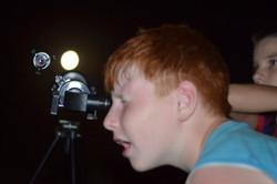 работа с телескопом