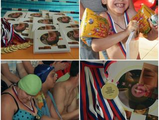 Состоялись наши традиционные летние соревнования по плаванию среди детей с инвалидностью