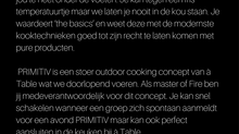 Vacature: Master of Fire