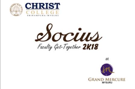 SOCIUS 2K18