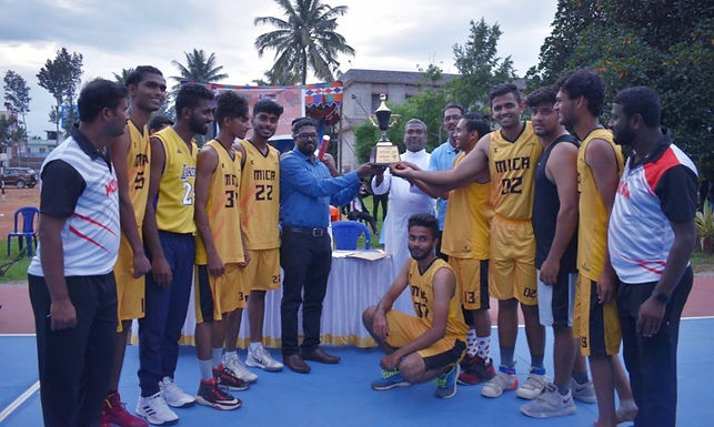 MICA lifts 'Christ Cup 2K19' Basketball trophy