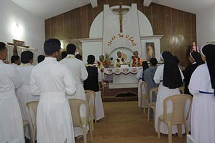 INAUGURATION OF CHRIST COLLEGE