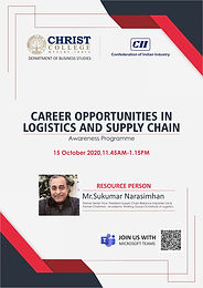 CAREER OPPORTUNITIES IN LOGISTICS AND SUPPLY CHAIN