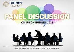 """Panel Discussion on ON """"UNION BUDGET 2021"""""""