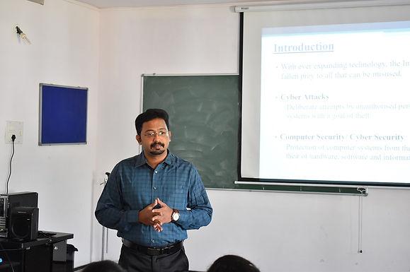 Technical Talk on Cyber Crime