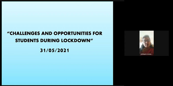 Challenges and Opportunities for Students during Lockdown