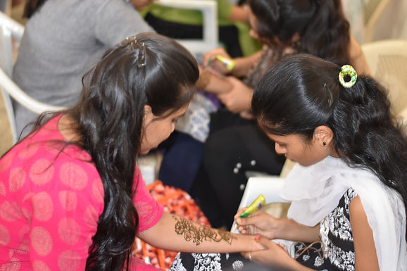 Mehandi (Saloni) and Face Paint (Paint Squad) Competition ( TALENT HUNT 2K19)