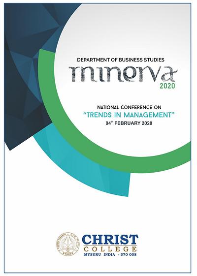 MINERVA - 2020 National Conference Publication