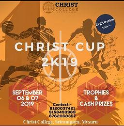 CHRIST CUP 2K19