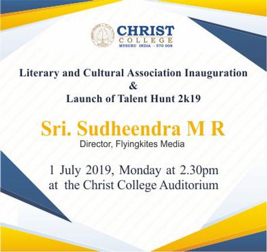 LCA Inuagruation, Talent Hunt 2k19 Launch