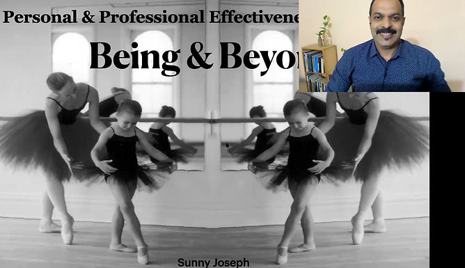 Being and Beyond: Improving Personal and Professional Effectiveness of Teachers.
