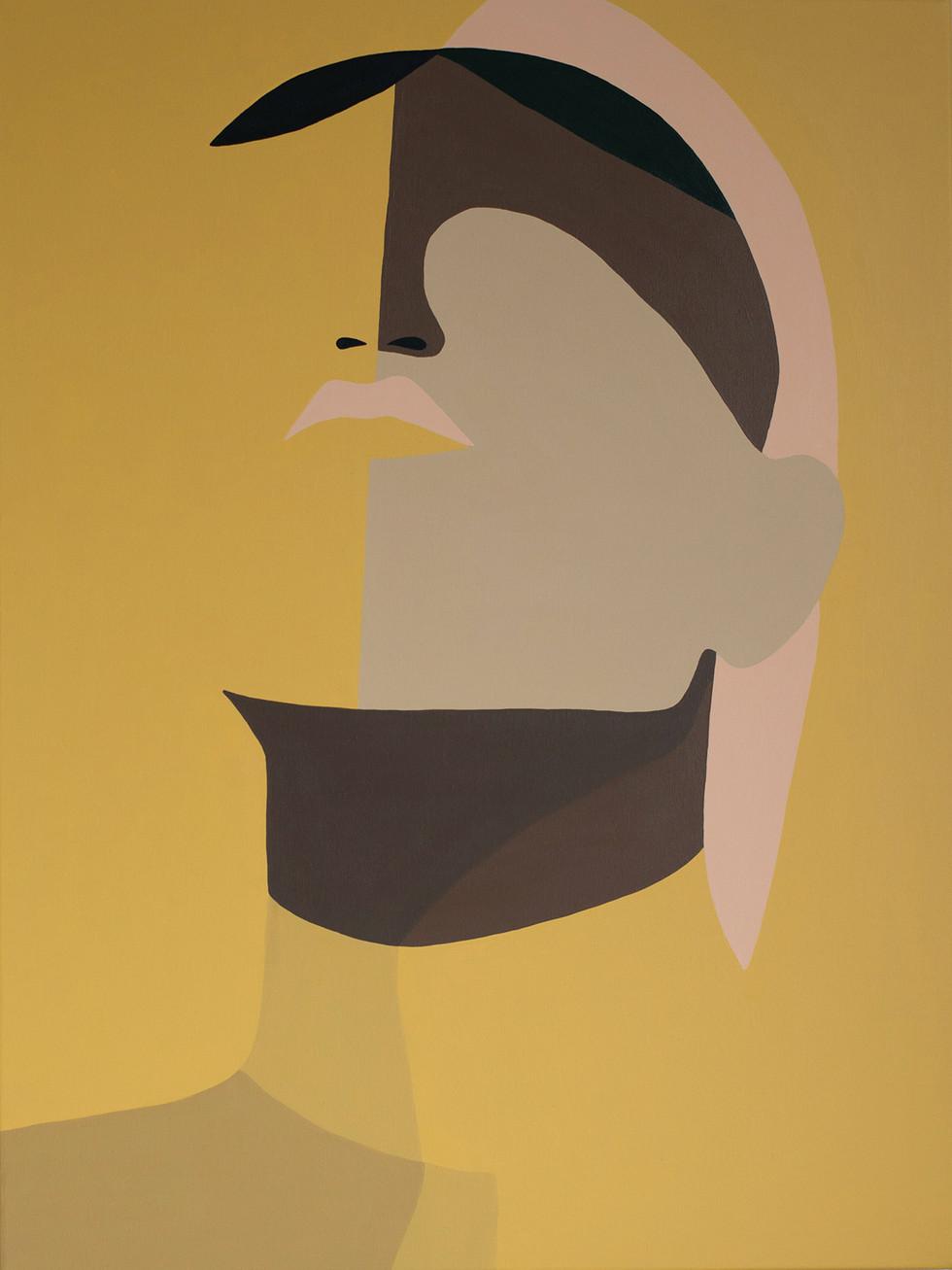 Yellow, 2020 (sold) acrylic on canvas 60 x 80 cm