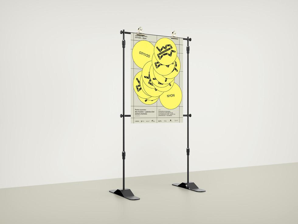 La Journée des Arts, 2020 Visual identity system and web design  Industries: Art, Culture