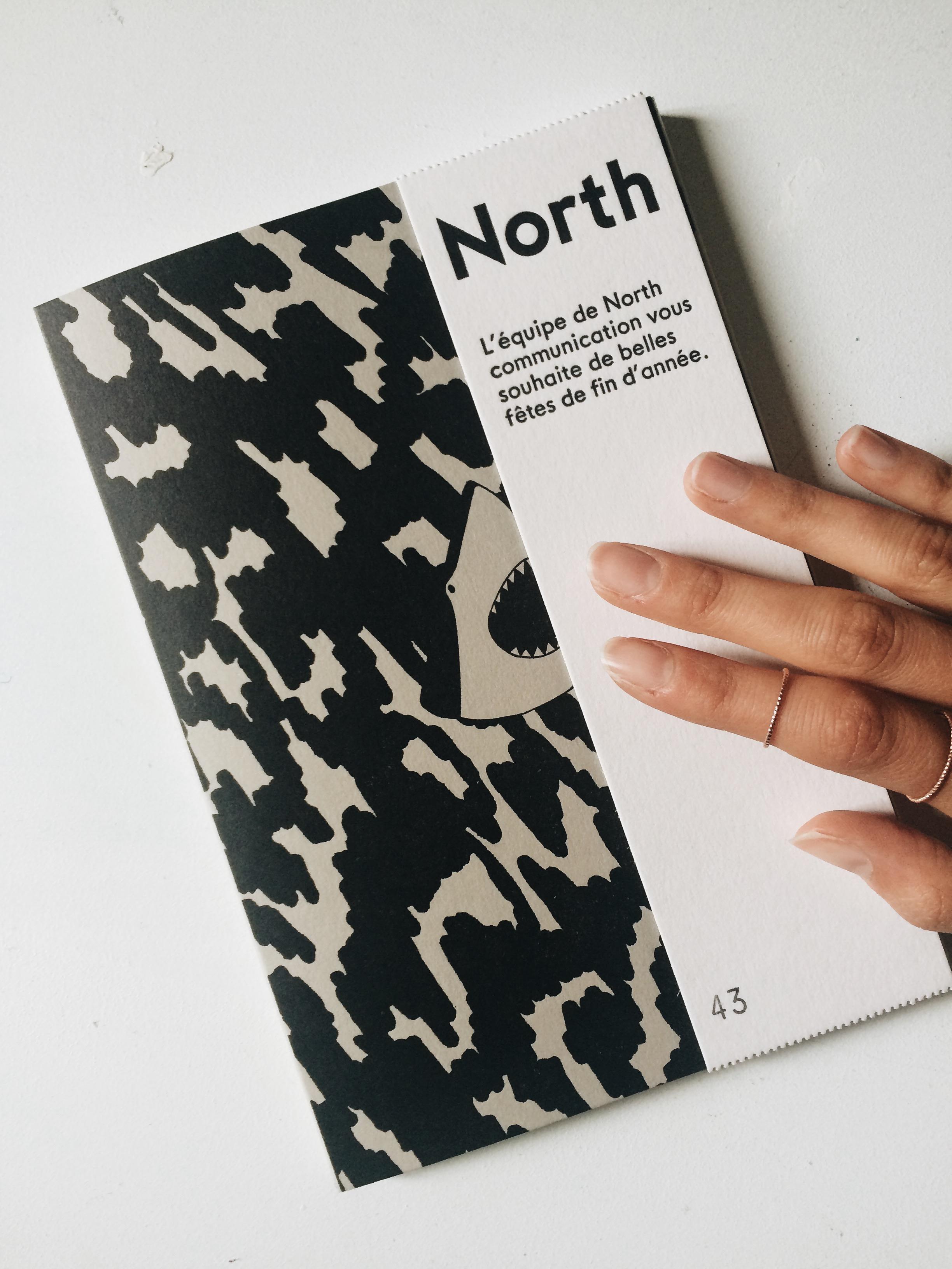 NORTH + CARNET NUMERO